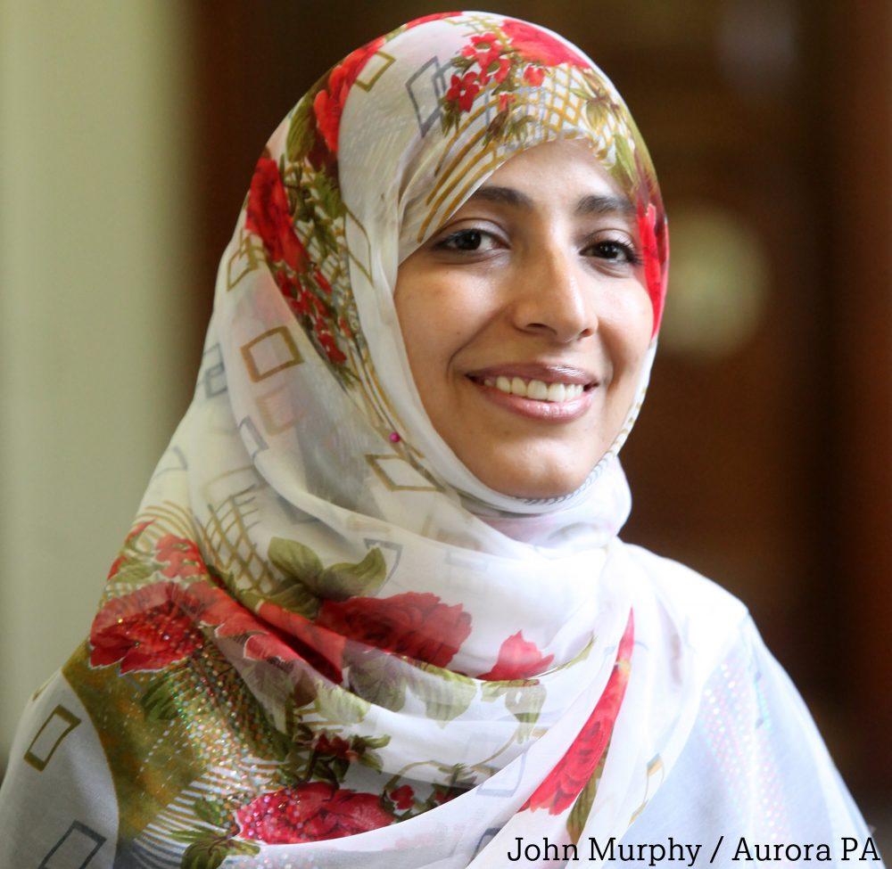 """""""Libertad de expresión y Derechos Humanos en Yemen"""", por Tawakkol Karman"""