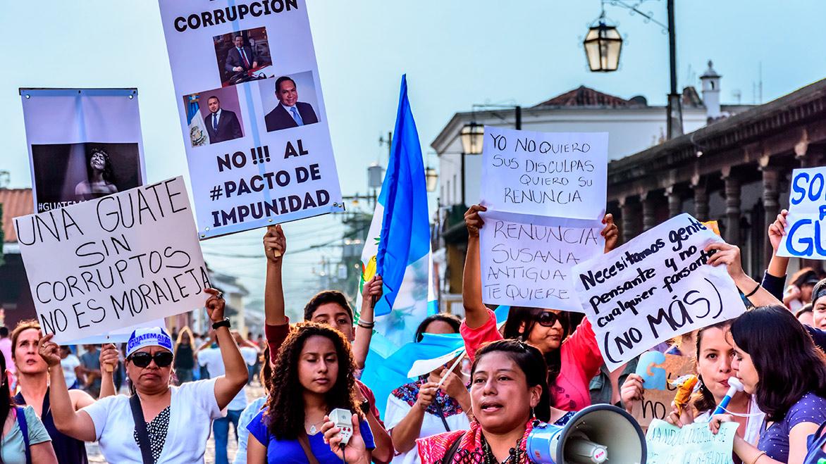 """<center>""""Fortaleciendo la democracia: la lucha contra la impunidad y la corrupción"""", por Thelma Aldana</center>"""