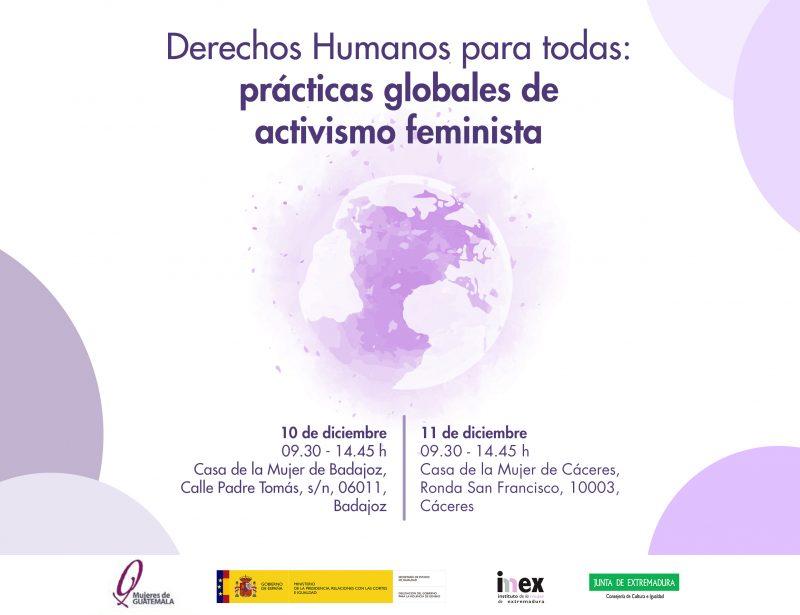 "Jornadas ""Derechos Humanos para todas: prácticas globales de activismo feminista"""