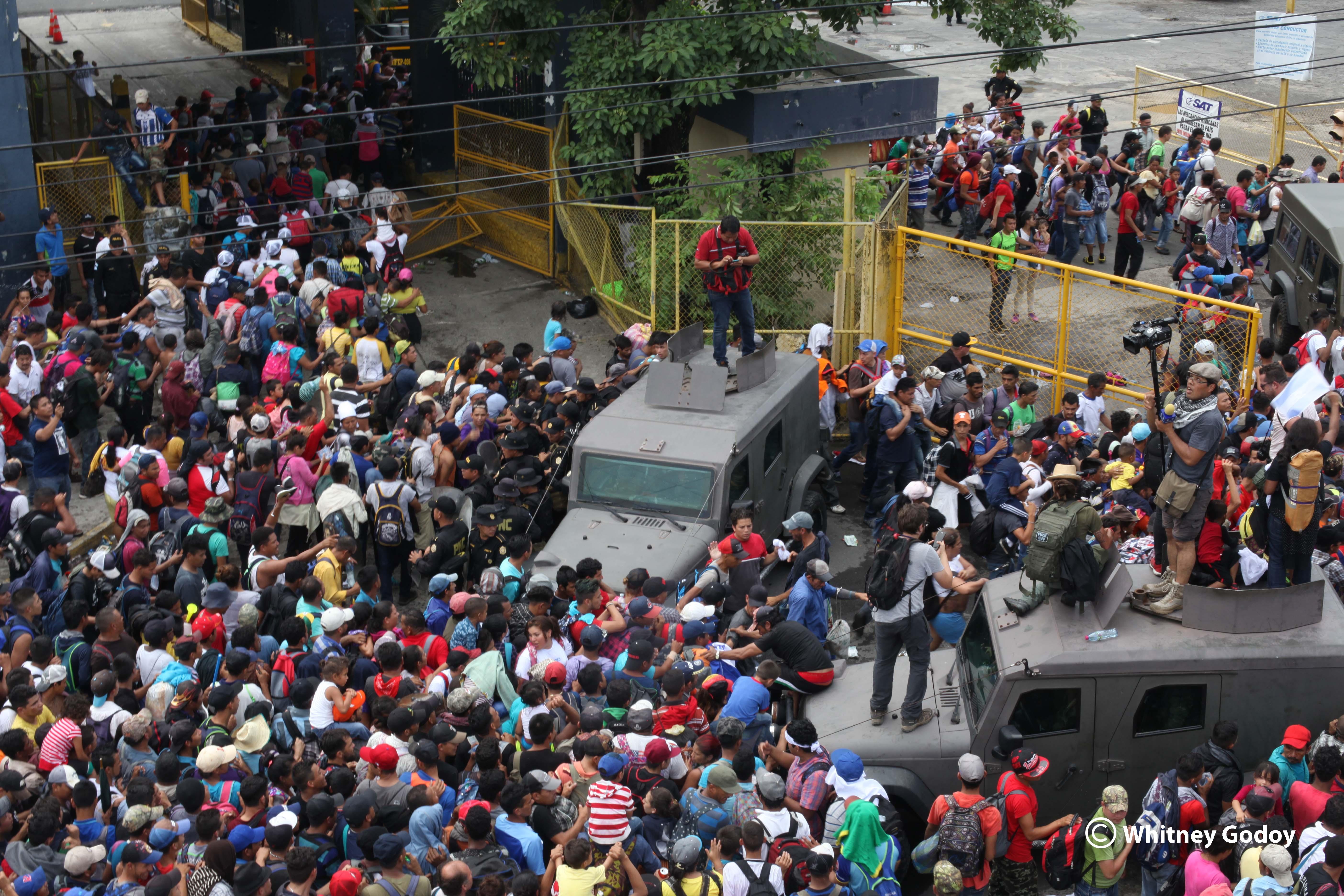 Honduras: de caravanas migrantes y fronteras inhumanas